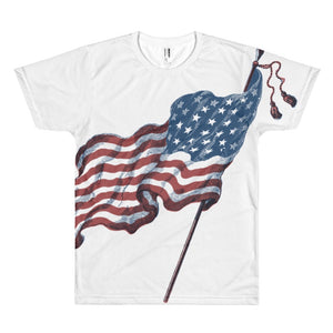 American Pride All Over Print Tee