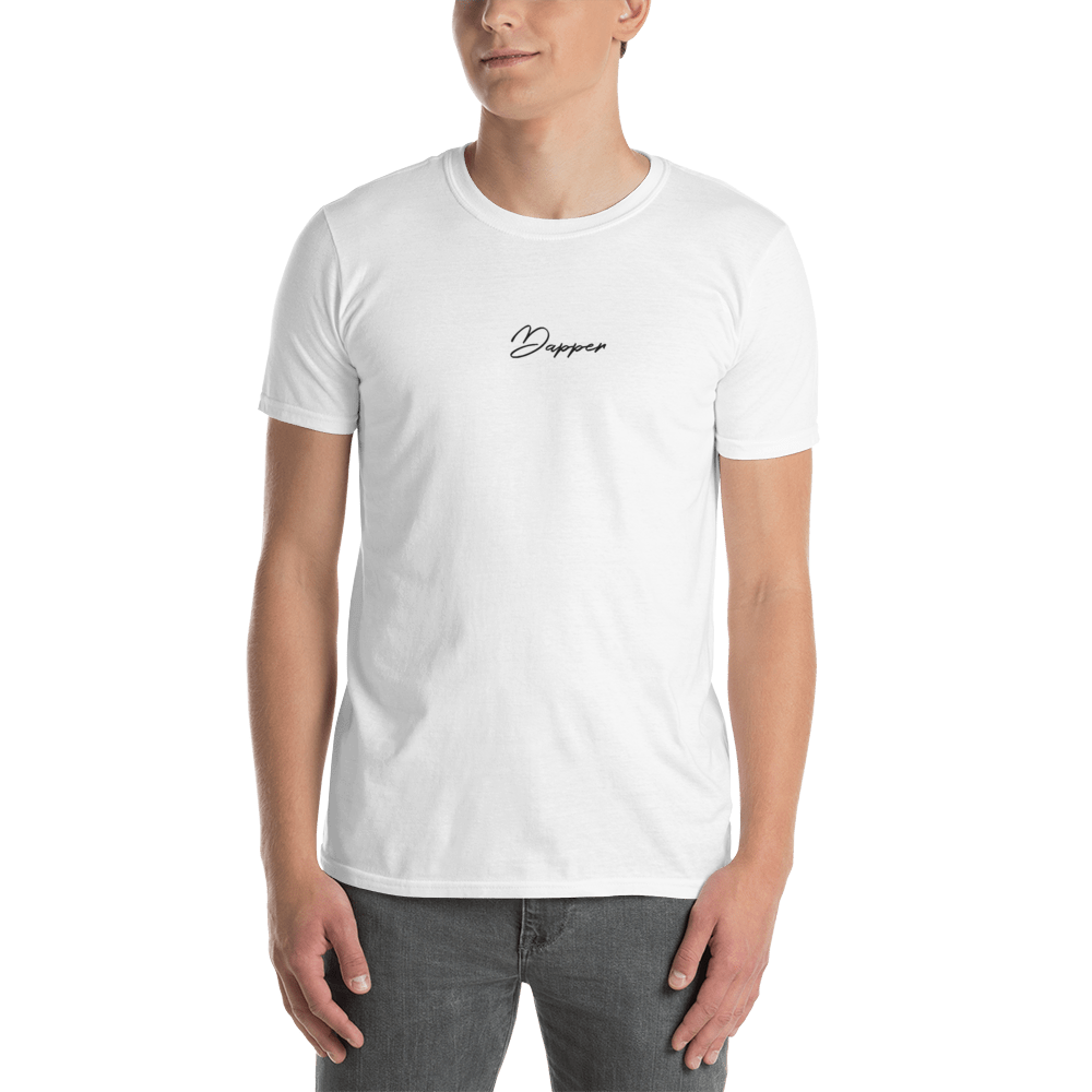 Dapper Embroidered  T-Shirt