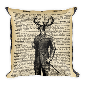 Vintage Dictionary Pillow