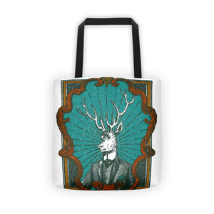 Dapper Deer Tote Bag