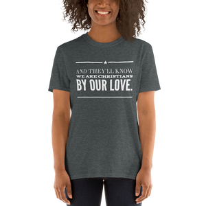 BY OUR LOVE Short-Sleeve Unisex T-Shirt