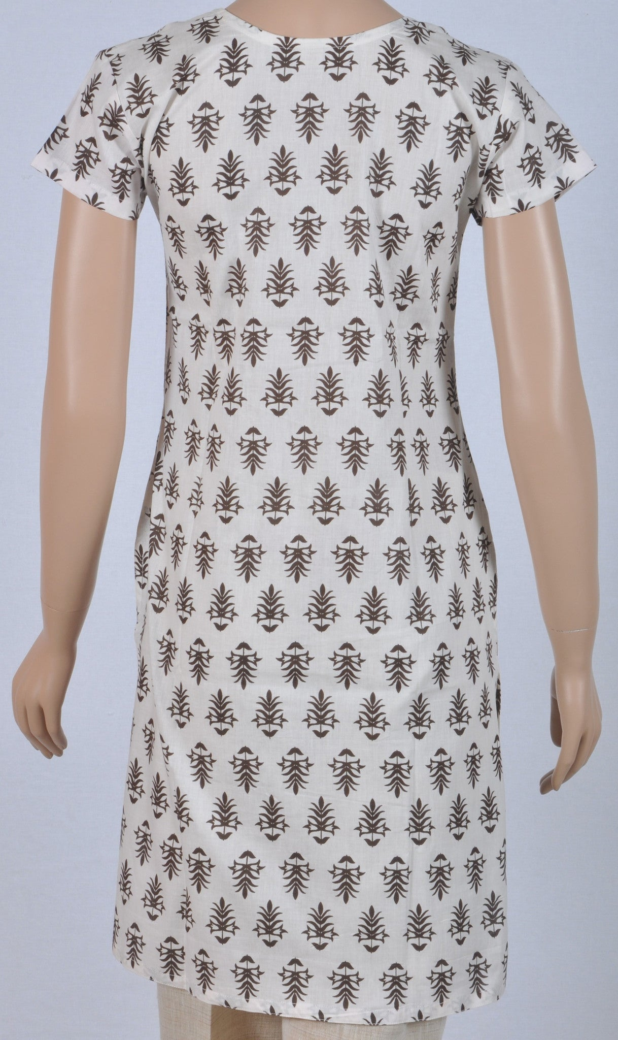Kurta: Printed Cambric Cotton, MKA01A0214