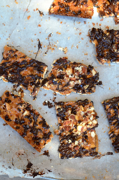 Halva Almond Butter Toffee Crunch