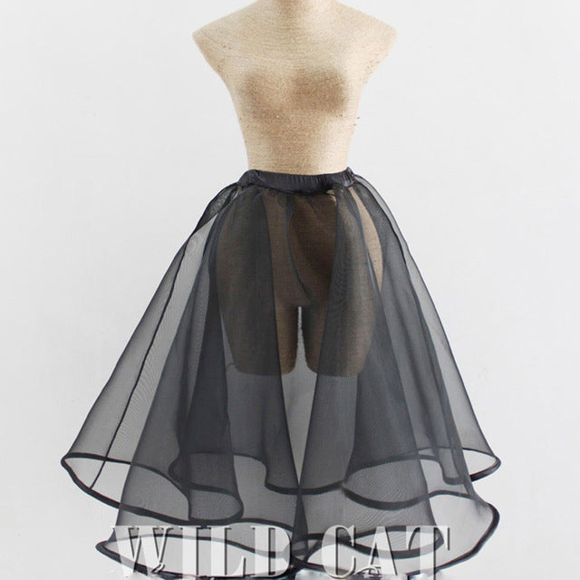 Sexy Petticoat Underskirt Ball Gown Princess Skirt Hard Density Tulle Organza - Kissmiss Ireland