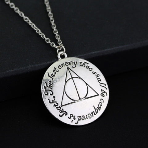 "Deathly Hallows - ""The last enemy that shall be conquered is Death"""