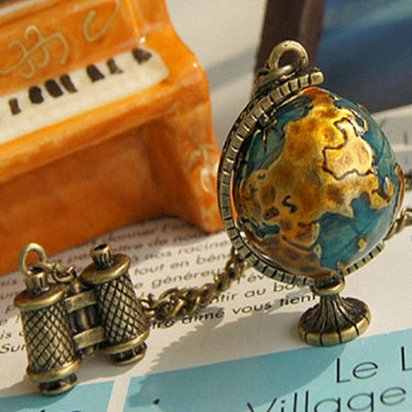 Traveller's Globe Necklace