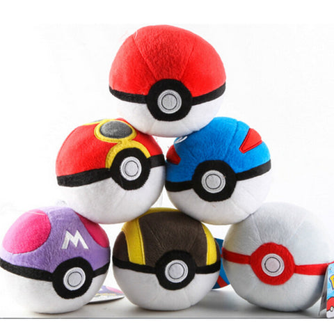 Pokéball Plush Toy