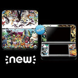 Pokemon - 3DS XL Vinyl Stickers