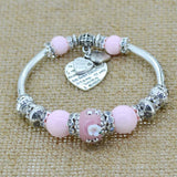 Made with Love Charm Bangle Bracelet