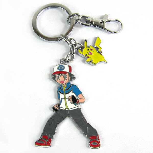 Ash and Pikachu Key Chain
