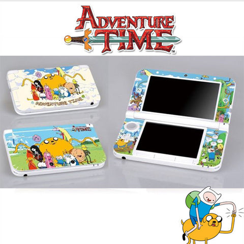 Adventure Time - 3DS XL Vinyl Stickers
