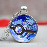 Glass Pokémon Pendant
