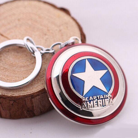 Captain America Shield key Chain