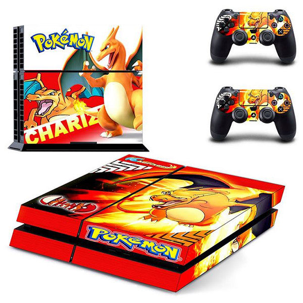 Pokemon - Charizard PlayStation 4 Vinyl Set