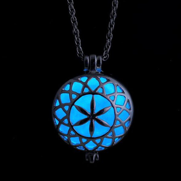 Glow In The Dark Multi-Shaped Locket