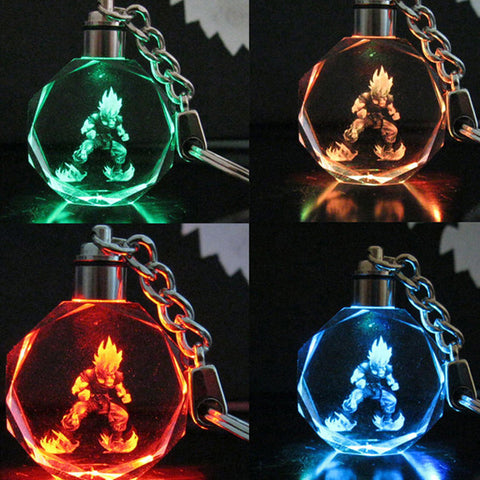 DragonBall Z Multi-Color LED Key Chain