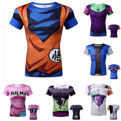 Short Sleeve DBZ Tops