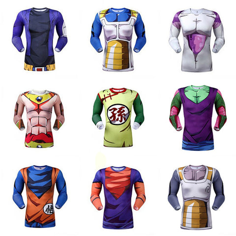 Long Sleeve DBZ Tops