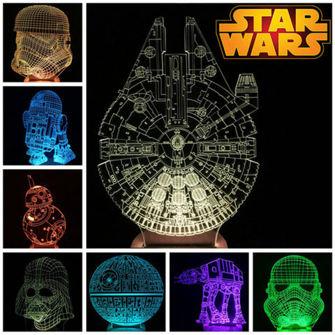 StarWars Bulbing Lights (Lamp)