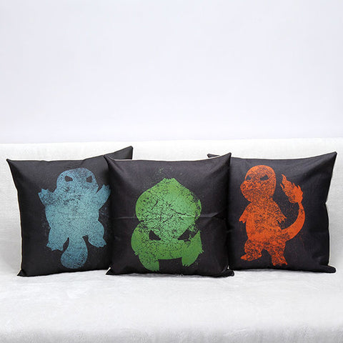 Pokemon Themed Cushions (The Original Starters)