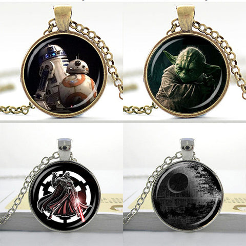 StarWars Glass Pendants