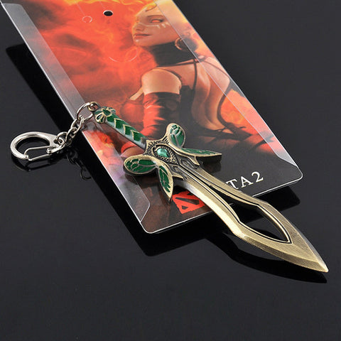 Dota 2 Butterfly Sword Key Chain