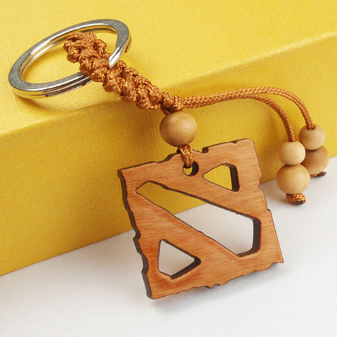 Wooden Dota 2 Key Chain