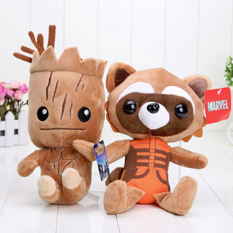 Groot & Rocket Plush Toy