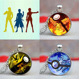 TEAM GO - Glass Pokémon Pendant