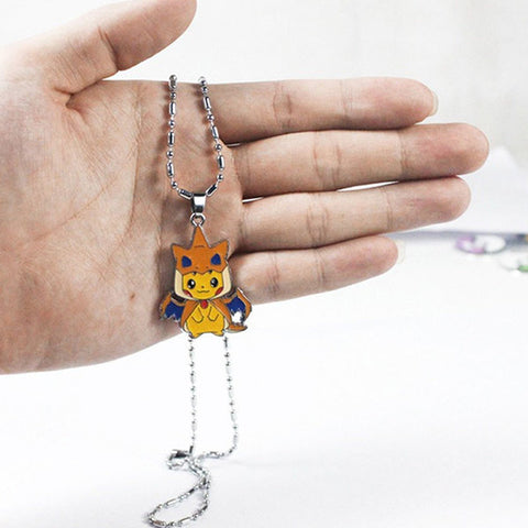 Pikazard Pokémon Necklace
