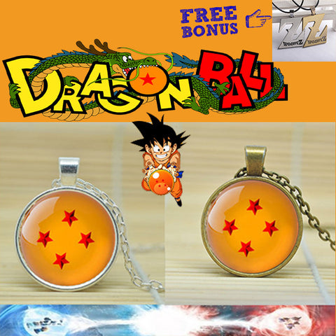 The '4 Star' Dragon Ball Pendant