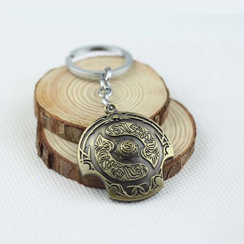 Dota 2 - Aegis of the Immortal Key Chain