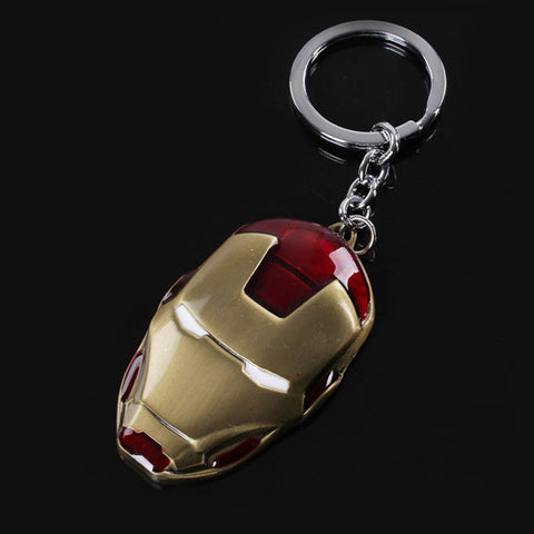 Iron Man Mask Key Chain