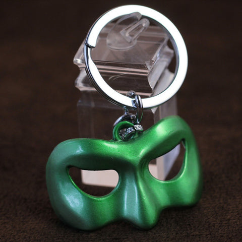 Mask of the Green Lantern Key Chain