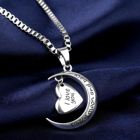 'I Love you to the moon & back' Necklace