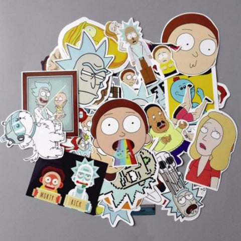 Rick and Morty 35Piece Sticker Pack