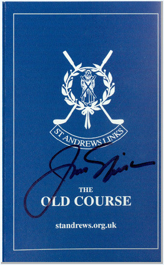 Golf: Jack Nicklaus Signed British Open Score Card UACC Dealer