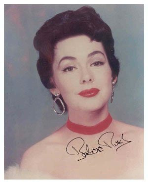 Barbara Rush Autographed Photo