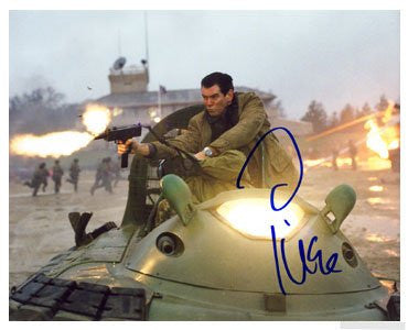 Pierce Brosnan Autographed Photo