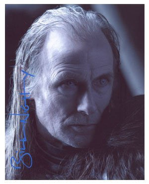 Bill Nighy 8x10 Autographed Photo