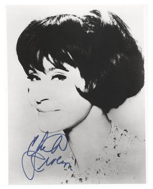 Chita Rivera Autographed Photo