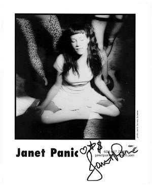 Janet Panic Autographed Photo