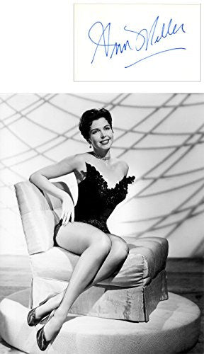 Ann Miller  Autograph with Photo