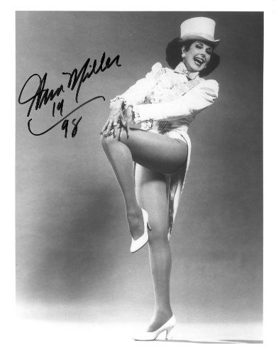 Ann Miller Autographed 8x10 Photo UACC Signed