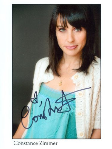 Constance Zimmer Autographed Photo