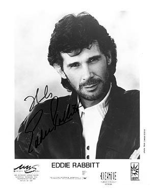 Eddie Rabbitt Autographed Photo