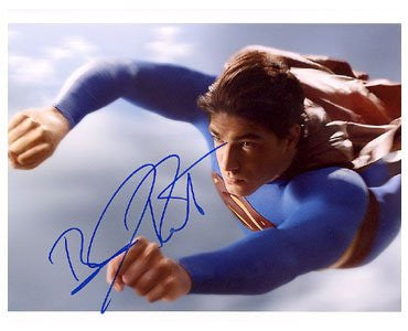 Brandon Routh Superman Returns Autographed Photo