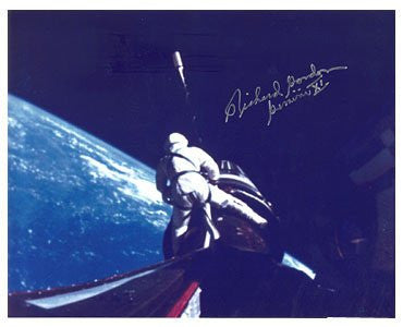 Astronaut Richard Gordon 8x10 Autographed Photo