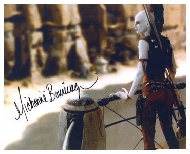 Star Wars Michonne Bourriague Autographed Photo