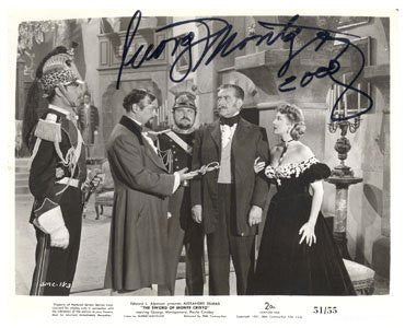George Montgomery Autographed Photo